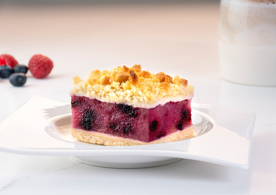 PerfectPortions Apple Wildberry Crumble